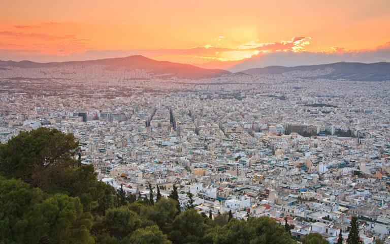 Στη «μαύρη λίστα», λόγω έλλειψης αστικού πρασίνου, περιλαμβάνονται η Αθήνα (18η θέση), η Βουδαπέστη, οι Βρυξέλλες, η Κοπεγχάγη και η Ρίγα. (Φωτ. Shutterstock)