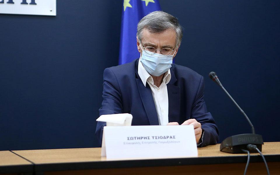 Προειδοποίηση Τσιόδρα για την πανδημία: «Σταματήσαμε να ακούμε τους  ειδικούς»   Η ΚΑΘΗΜΕΡΙΝΗ